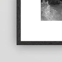 Black Mat Frame
