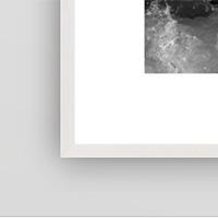 White Mat Frame
